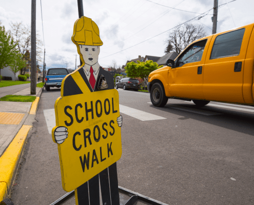 School Crossing Guard Rescues Girl in Valrico