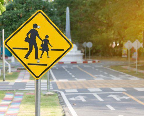 pedestrian crossing where Pedestrian Suffers Serious Injuries In Pinellas Park Crash