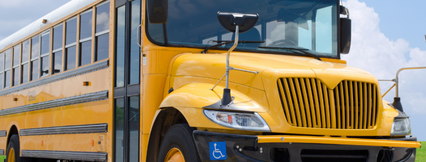 An 8-year-old passenger was killed after a school bus was hit by a driver
