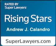 Rising Stars badge awarded to Andrew Calandro